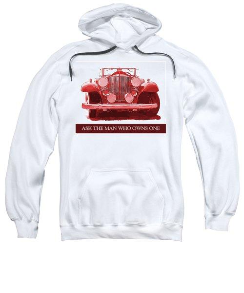 Packard Ask The Man Red Sweatshirt