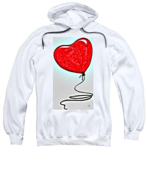 Painted Heart Sweatshirt