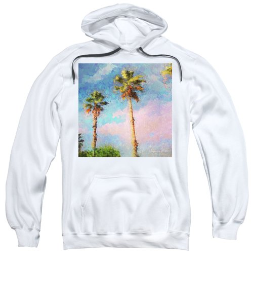 Painted Palms Sweatshirt