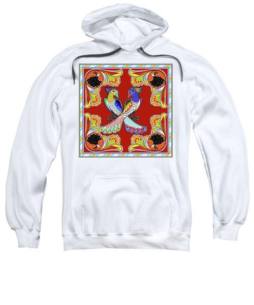 Painting 629 1 Truck Art 6 Sweatshirt