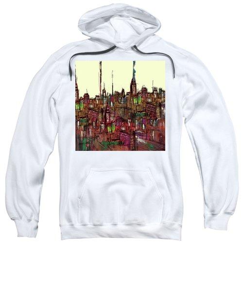 Painting 775 1 New York Skyline Sweatshirt