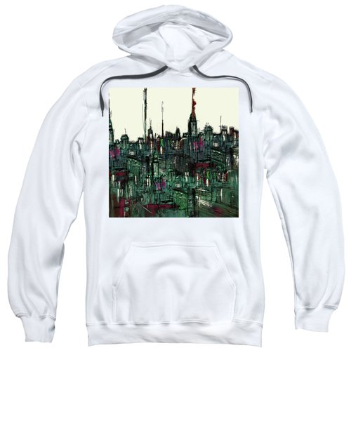 Painting 775 3 New York Skyline Sweatshirt