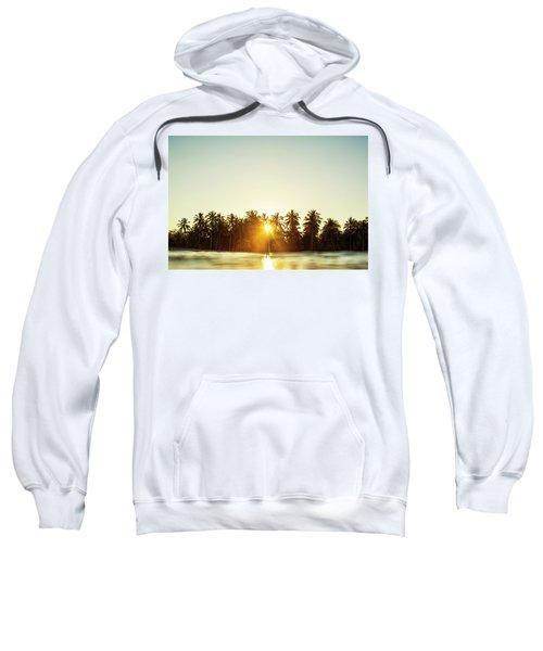 Palms And Rays Sweatshirt
