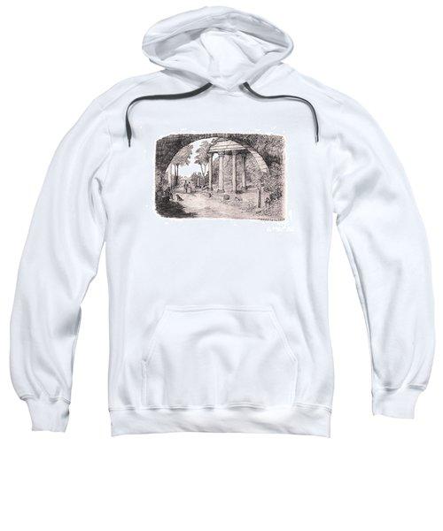 Pan Watching Ruins Of The Past Sweatshirt