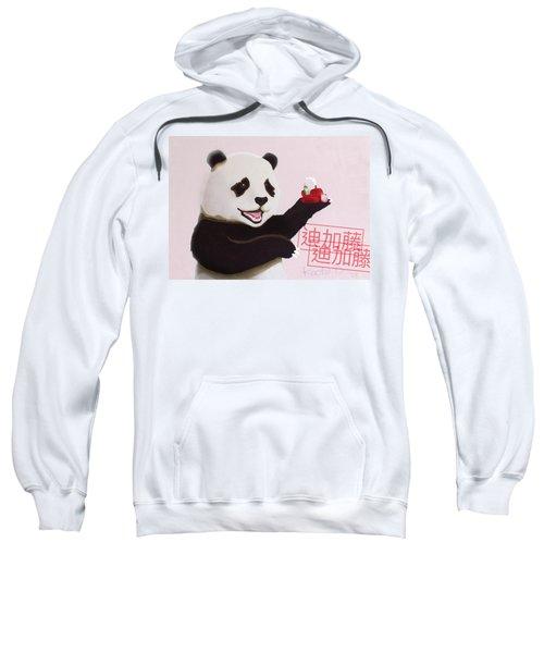 Panda Joy Pink Sweatshirt