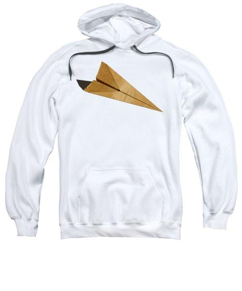 Paper Airplanes Of Wood 15 Sweatshirt by YoPedro