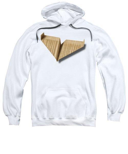 Paper Airplanes Of Wood 8 Sweatshirt