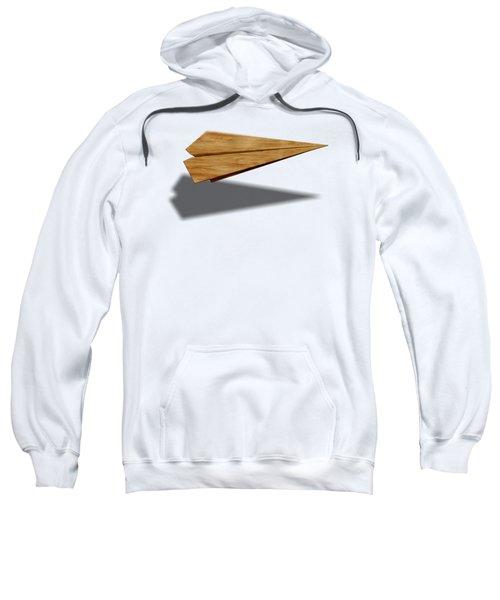 Paper Airplanes Of Wood 9 Sweatshirt by YoPedro