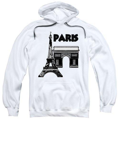 Paris Graphique Sweatshirt by Pharris Art