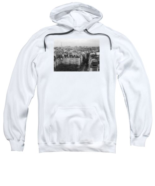 Paris In The Rain  Sweatshirt