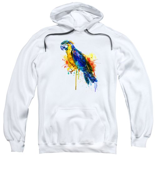 Parrot Watercolor  Sweatshirt by Marian Voicu