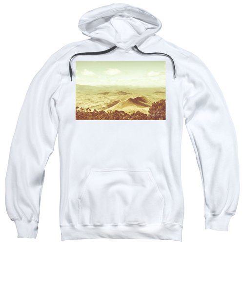 Pastel Tone Mountains Sweatshirt