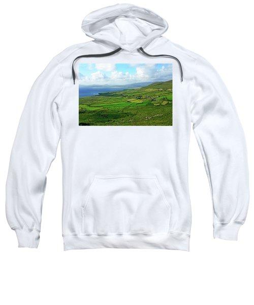 Patchwork Landscape Sweatshirt