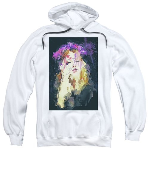 Path Abstract Portrait Sweatshirt