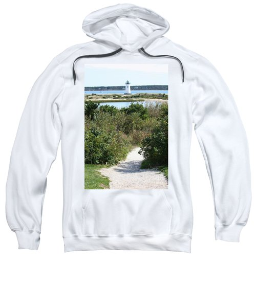 Path To Edgartown Lighthouse Sweatshirt