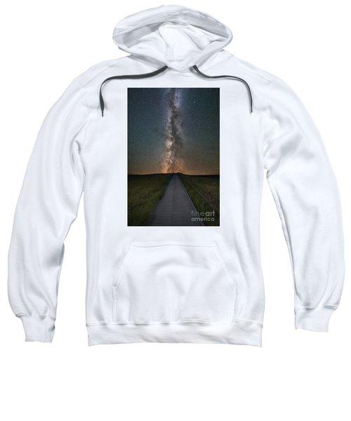 Path To The Stars  Sweatshirt