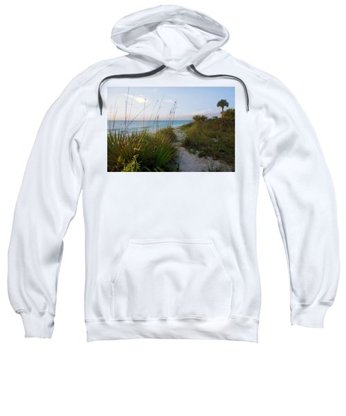 Pathway To Barefoot Beach  In Naples Sweatshirt