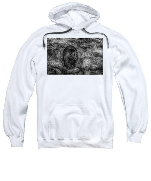 Patient Black Bear Sweatshirt