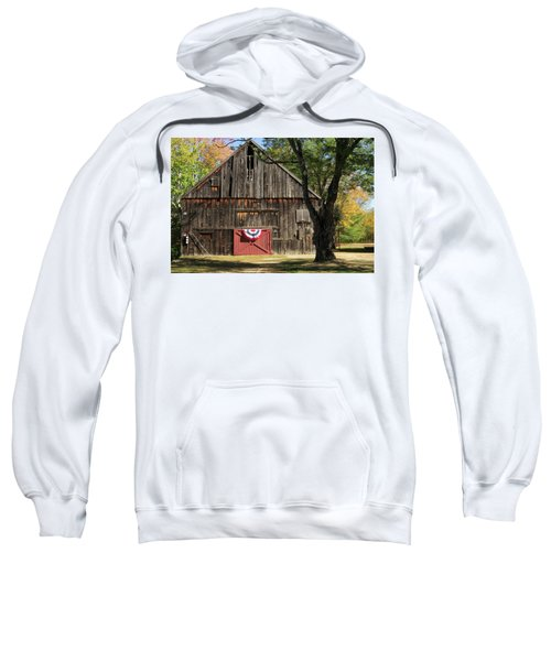 Patriotic Barn Sweatshirt