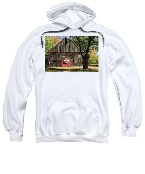 Patriotic Barn Sweatshirt