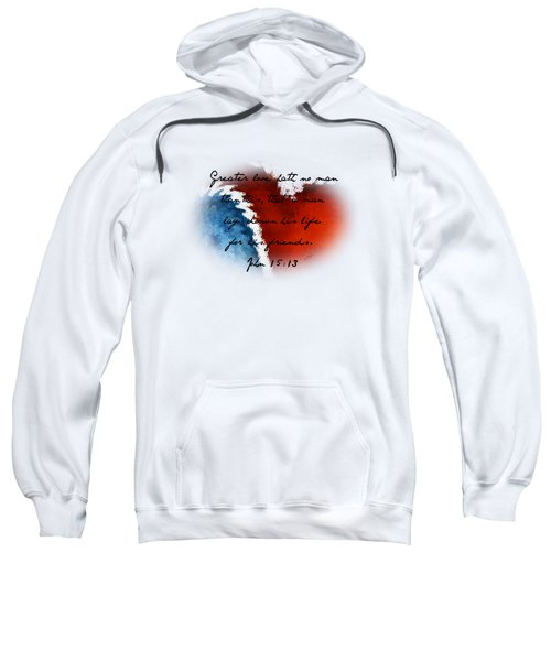 Patriotic Heart - Verse Sweatshirt