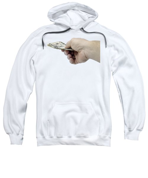 Pay Money Sweatshirt by Erich Grant