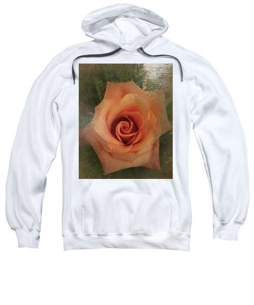 Peach Rose Sweatshirt