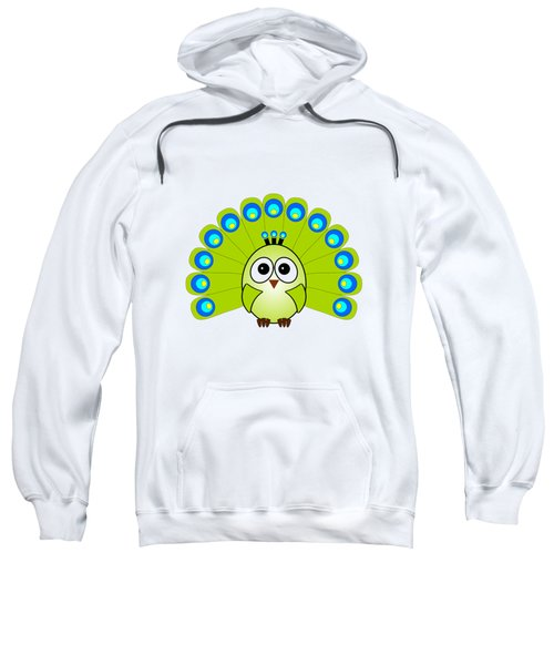 Peacock  - Birds - Art For Kids Sweatshirt