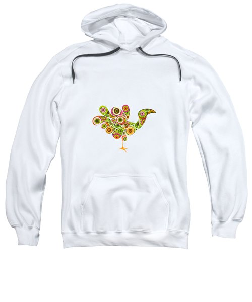 Peafowl Sweatshirt by BONB Creative