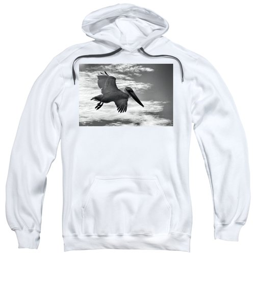 Pelican In Flight Sweatshirt