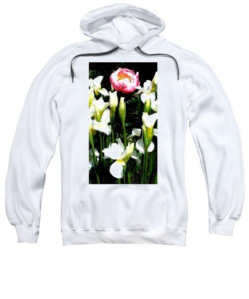 Peony And Iris Sweatshirt