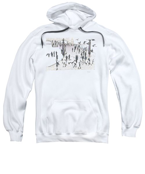 People And Birds, 19 December, 2015 Sweatshirt