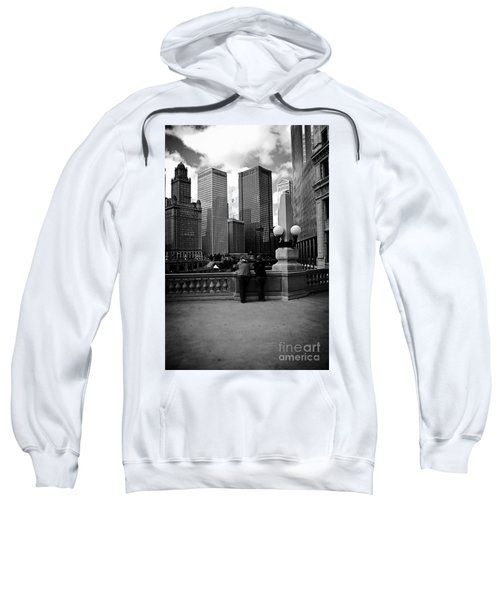 People And Skyscrapers Sweatshirt