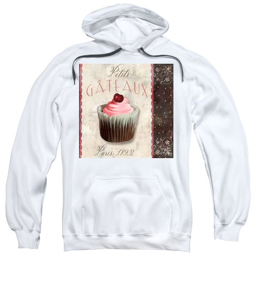 Petits Gateaux Chocolat Patisserie Sweatshirt