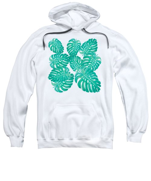 Philodendron Leaves Sweatshirt