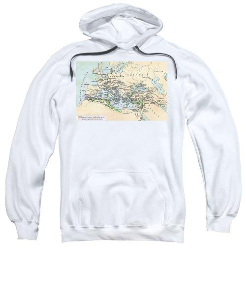Phoenician Colonies And Area Of Sweatshirt