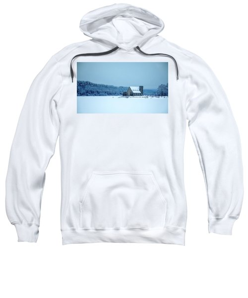 Photographer On Thin Ice Sweatshirt
