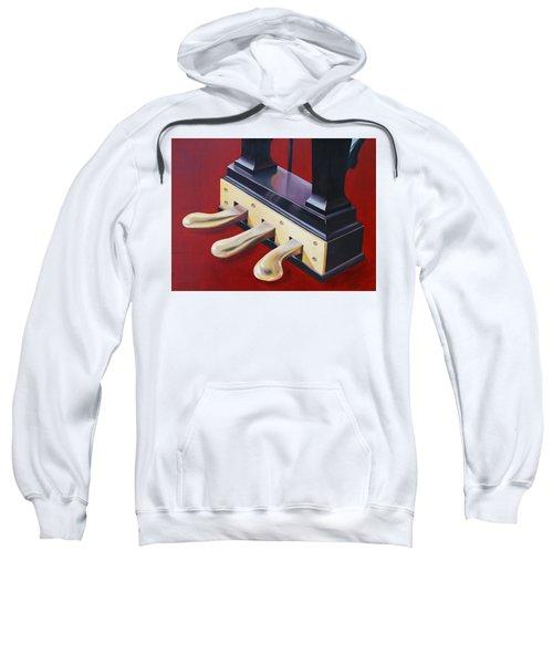 Piano Pedals Sweatshirt
