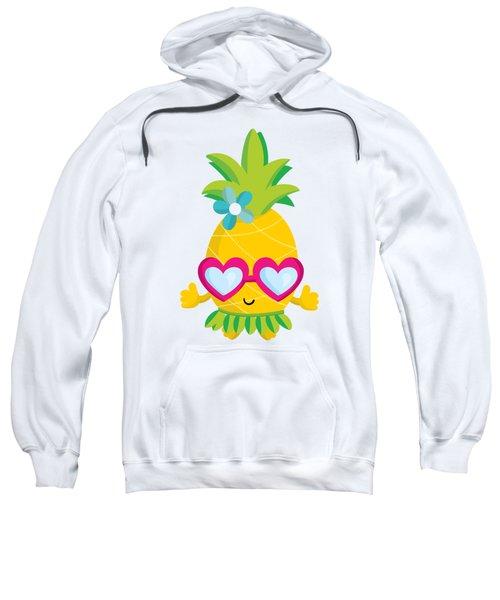 Pineapple Hula Sweatshirt