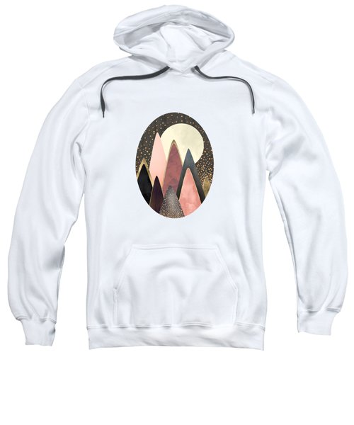 Pink And Gold Peaks Sweatshirt