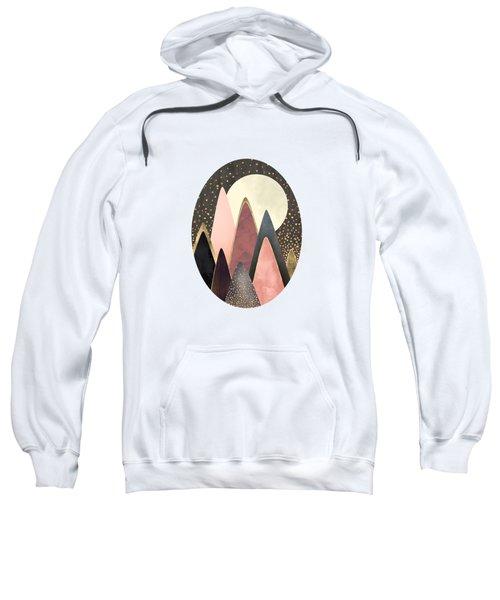 Pink And Gold Peaks Sweatshirt