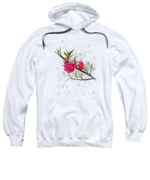 Hot Pink Blossom Sweatshirt