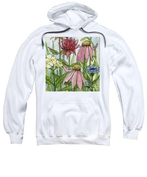 Pink Coneflower Sweatshirt