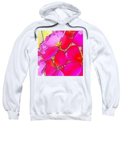 Pink Flower Sweatshirt