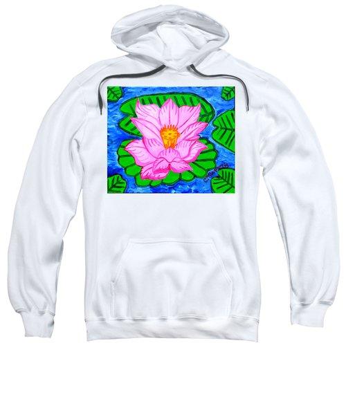 Pink Lotus Flower Sweatshirt