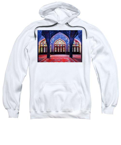 Pink Mosque, Iran Sweatshirt