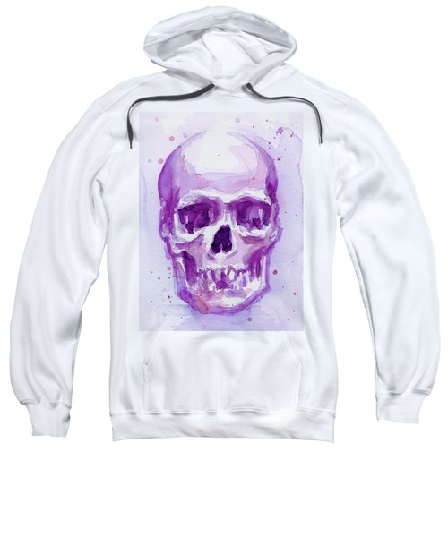 Pink Purple Skull Sweatshirt