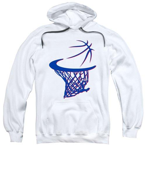 Pistons Basketball Hoop Sweatshirt