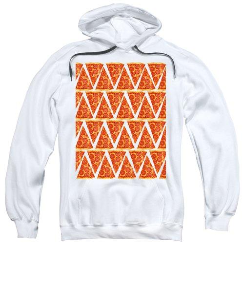 Pizza Slices Sweatshirt by Diane Diederich