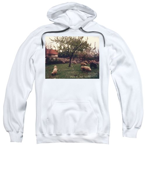 Place Of Peace And Love Sweatshirt
